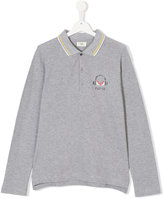 Fendi Teen long sleeve polo shirt