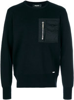 DSQUARED2 sweatshirt with nylon pocket