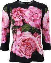 Dolce & Gabbana Rose Top