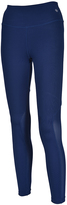 Therapy Navy Calf Contrast-Panel Performance Leggings