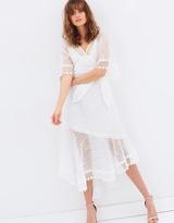 Elliatt Degas Wrap Dress