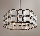 Pottery Barn Manor Crystal Paneled Chandelier