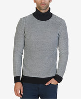 Nautica Men's Birdseye Turtleneck Sweater