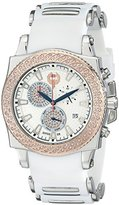 """Brillier Men's 01.4.3.4.13.2 """"Chronograph Method Air"""" Diamond-Accented Stainless Steel Watch"""