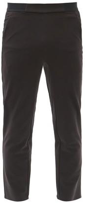 Jacques - Zip-cuff Performance Trousers - Black Multi