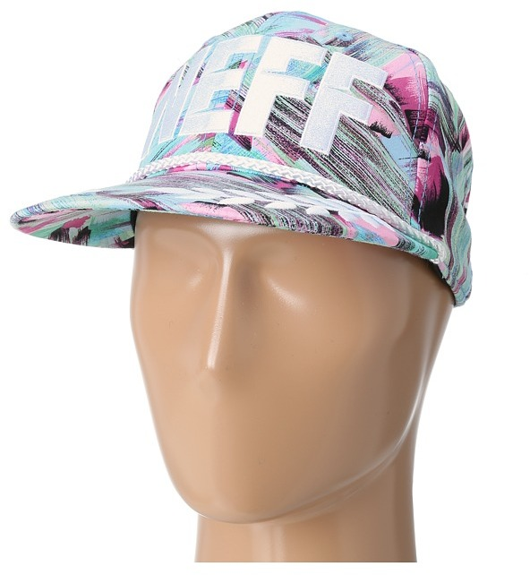 Neff Jefe Cap (Teal/Pink) - Hats