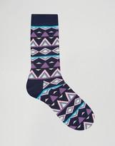 Happy Socks Tribal Socks