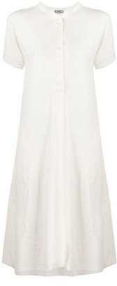 Kristensen Du Nord Flared-Skirt Midi Dress