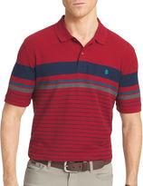 Izod Short Sleeve Stripe Cotton Polo Shirt