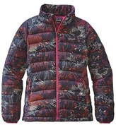 Patagonia Water Resistant Down Insulated 'Sweater' Jacket (Little Girls & Big Girls)