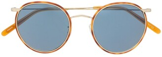 Oliver Peoples Casson round frame sunglasses