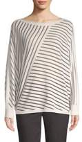 Lafayette 148 New York Directional Striped Top