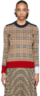 Burberry Beige Zambezi Sweater