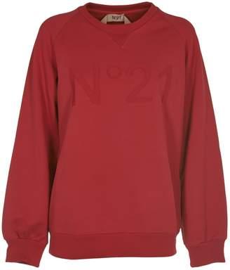 N°21 N.21 Red Sweatshirt