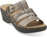 Clarks Lexi Alloy Slide Strap Sandals - Wide Width