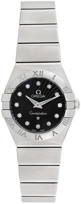 Heritage Omega Omega Women's Constellation Diamond Watch, Circa 2000S