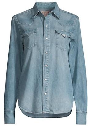 Polo Ralph Lauren Apley Western Chambray Shirt