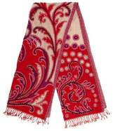 Tolani Wool Embroidered Scarf