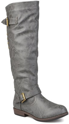 Journee Collection Spokane Riding Boot - Wide Calf