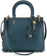 Coach detachable straps tote - women - Leather - One Size