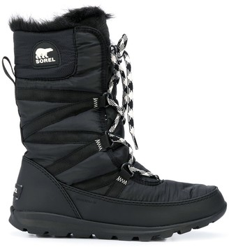 Sorel Lace-Up Lined Boots