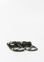 Dries Van Noten Yellow Thong Sandal