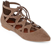 Mia Girl Anamarie Lace-Up Ballet Flats