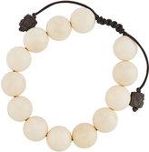 Armenta White Mammoth Beaded Bracelet