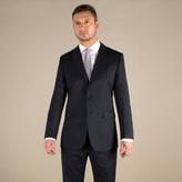 Karl Jackson Navy Stripe Regular Fit 2 Button Jacket