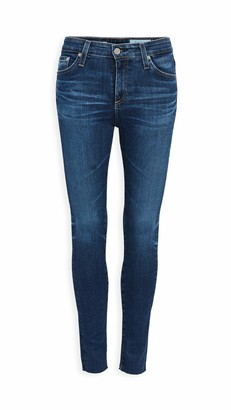 AG Jeans Women's Farrah HIGH-Rise Skinny FIT Ankle Jean with RAW Hem