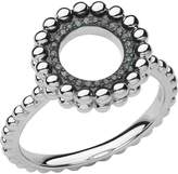 Links of London Effervescence silver & diamond ring