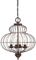 Quoizel Laila 4-Light Candle-Style Chandelier