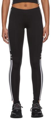 adidas Black Trefoil Tights