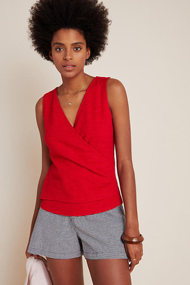 Maeve Jacquie Surplice Top By in Assorted Size XS