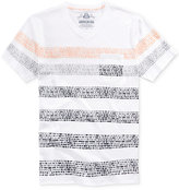 American Rag Men's Cobblestone Stripe V-Neck T-Shirt, Created for Macy's