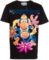 Moschino monkey print T-shirt - men - Cotton - XS