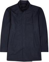 Corneliani Navy Shell Coat
