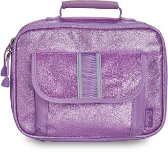 Bixbee Purple Sparkalicious Water Resistant Lunchbox