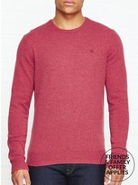 Hackett Lambswool Crew Neck Jumper