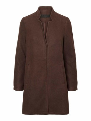 Vero Moda Women's VMBRUSHEDKATRINE AW20 3/4 Jacket BOOS
