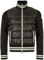 Moncler Zipped Cardigan - Black