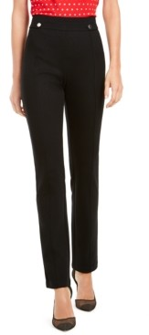 INC International Concepts I.n.c. Curvy-Fit Straight-Leg Pants, Created for Macy's