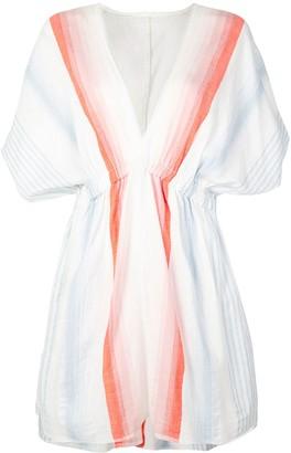Lemlem Biftu striped mini dress