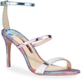 Sophia Webster Rosalind Mid Glitter Sandals