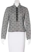 Tory Burch Embellished Patterned Jacket w/ Tags