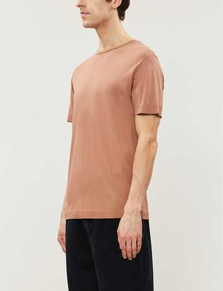 Reiss Iona cotton-blend jersey T-shirt