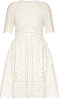 Zimmermann Roza broderie-anglaise cotton dress