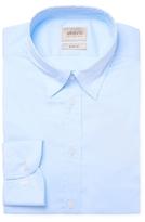 Armani Collezioni Solid Slim Fit Dress Shirt
