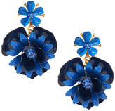 Banana Republic Elizabeth Cole | Limited Edition Blue Floral Statement Earring