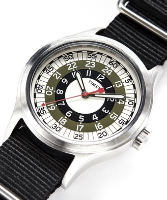 Timex + Todd Snyder The Mod Watch in Olive 40mm